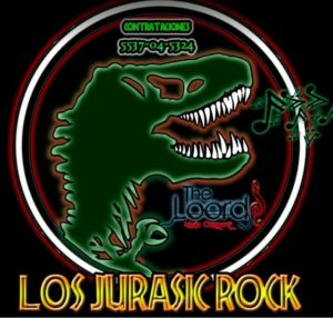 Logo jurassick rock the loords