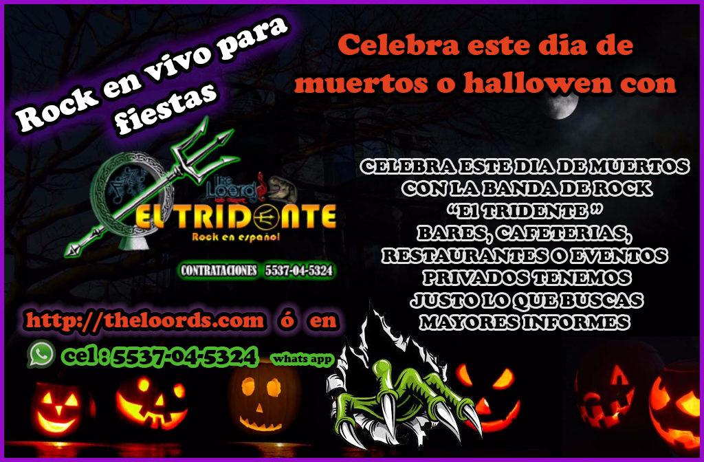 el tridente rock en español the loords para hallowen