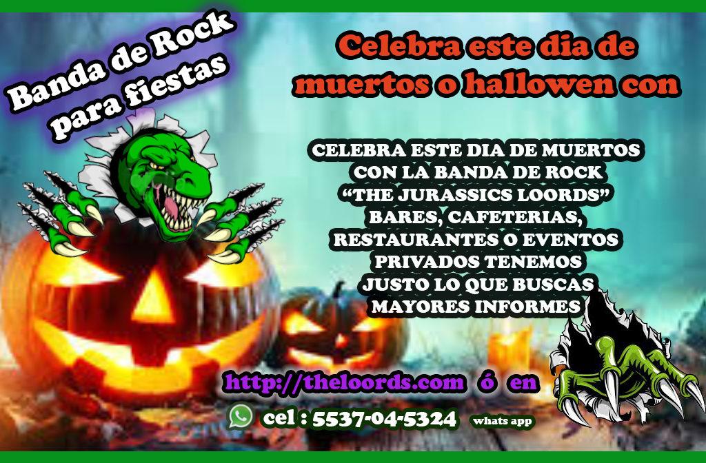 the jurassic the loords rock en vivo para hallowen